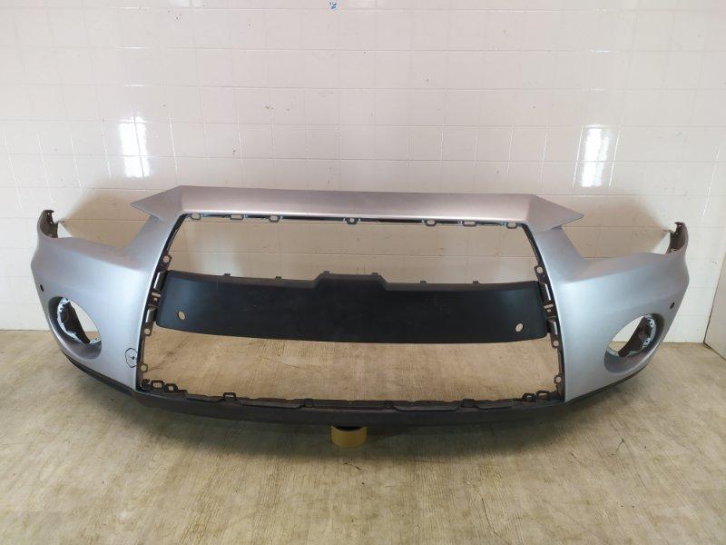 Бампер передний Mitsubishi Outlander Xl CW1W 4B11 2010 2011 2012 передний (б/у)