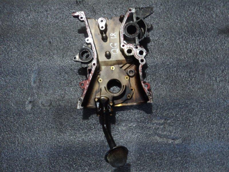Лобовина двигателя Nissan Ad VHNY11 QG18DE (б/у)