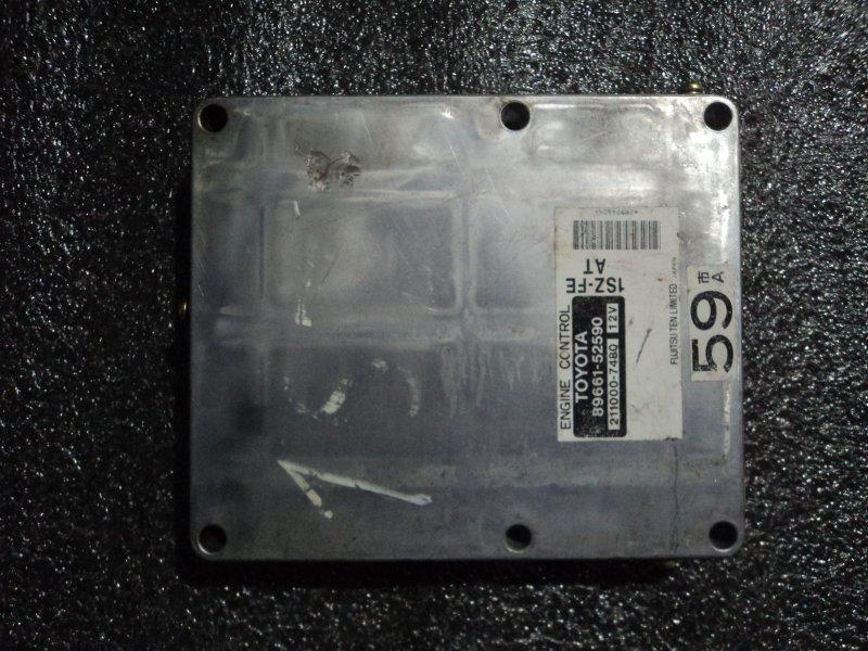 Блок управления двигателем Toyota Platz SCP11 1SZFE (б/у)