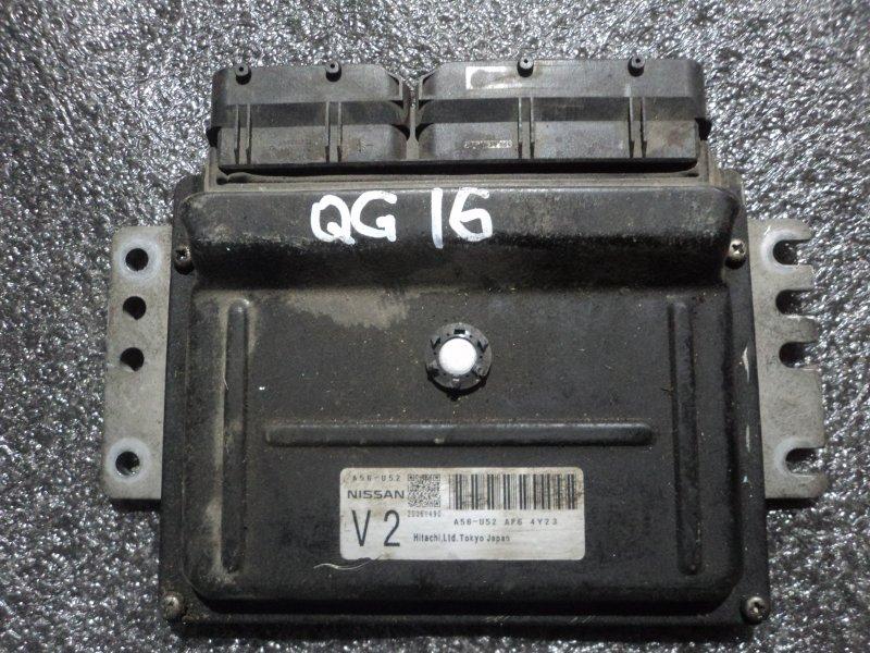 Блок управления двигателем Nissan Almera QG16DE (б/у)