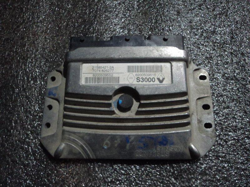 Блок управления двигателем Renault Megane F4R (б/у)