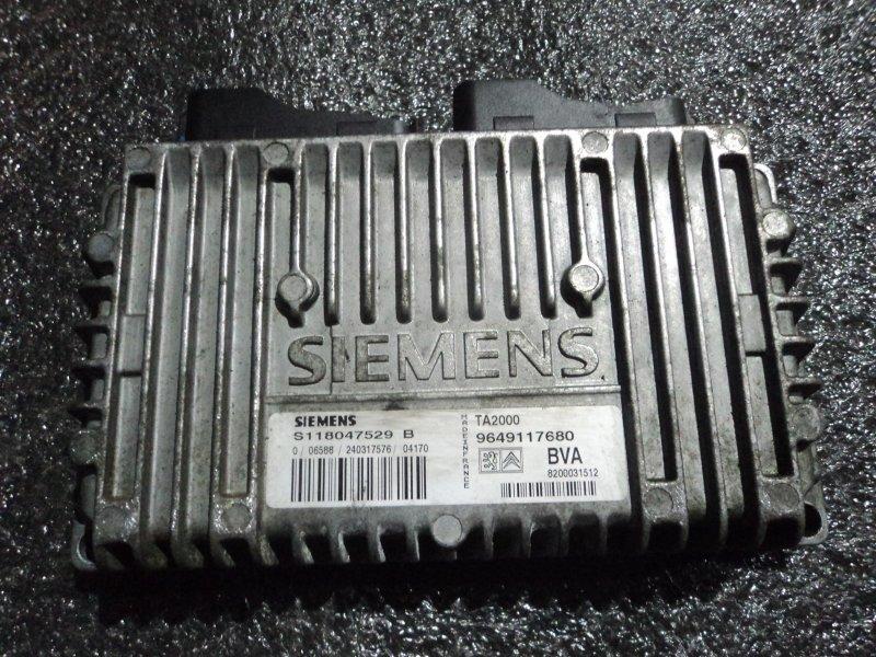 Блок управления кпп Peugeot 307 EW10 (б/у)