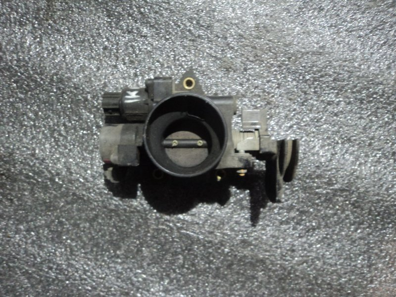 Дроссельная заслонка Toyota Passo KGC10 1KRFE (б/у)