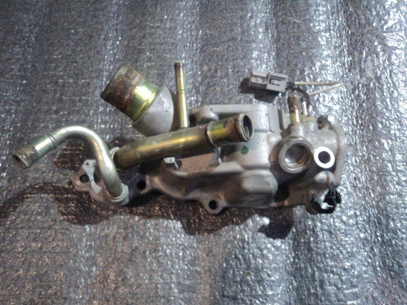 Корпус термостата Nissan Qashqai+2 J10E MR20DE (б/у)