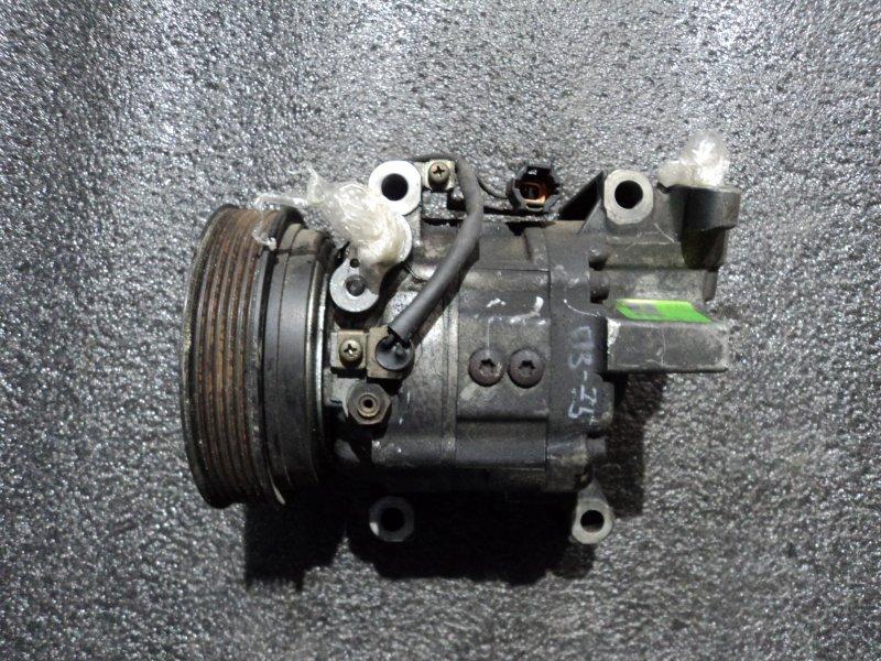Компрессор кондиционера Nissan Cube ANZ10 CG10DE (б/у)