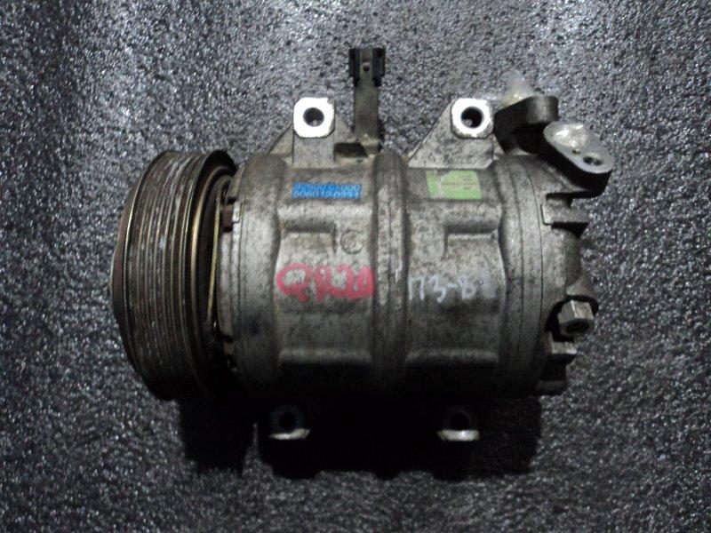 Компрессор кондиционера Nissan Bassara JTNU30 QR20DE (б/у)