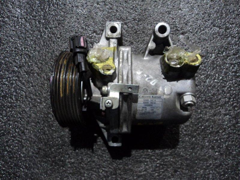 Компрессор кондиционера Nissan Almera N17T HR12DE (б/у)