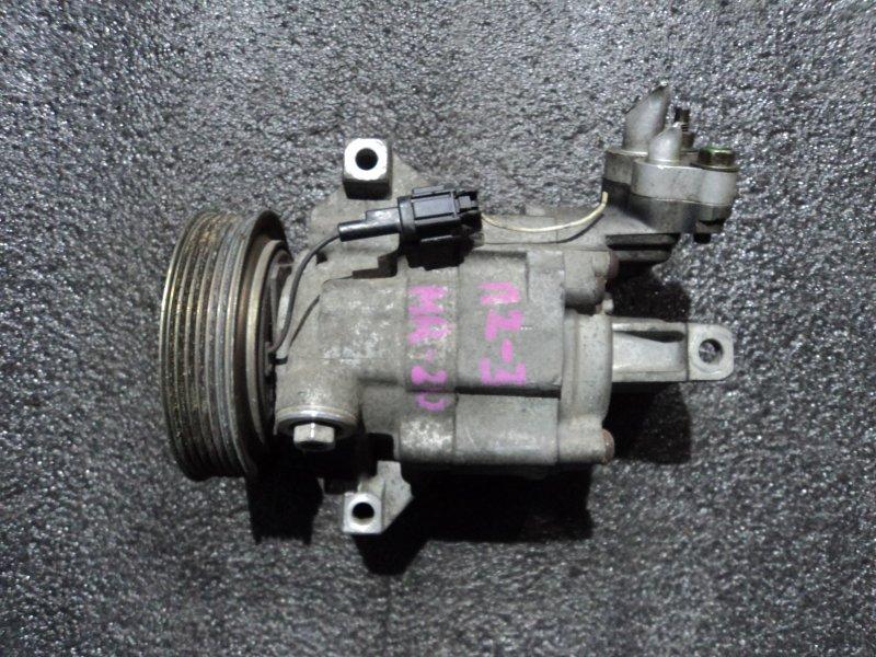 Компрессор кондиционера Nissan Tiida Latio SJC11 MR18DE (б/у)