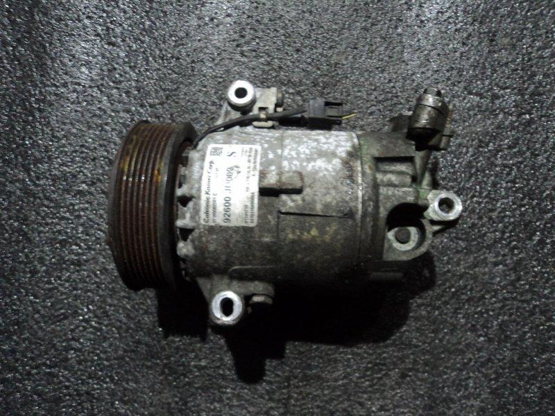 Компрессор кондиционера Nissan Qashqai+2 JJ10E HR16DE (б/у)
