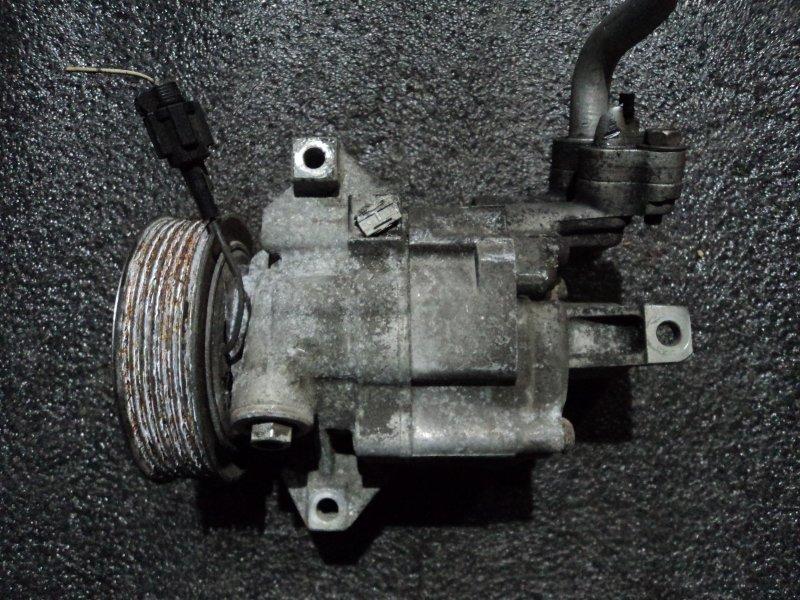 Компрессор кондиционера Nissan Cube Cubic YGNZ11 HR15DE (б/у)