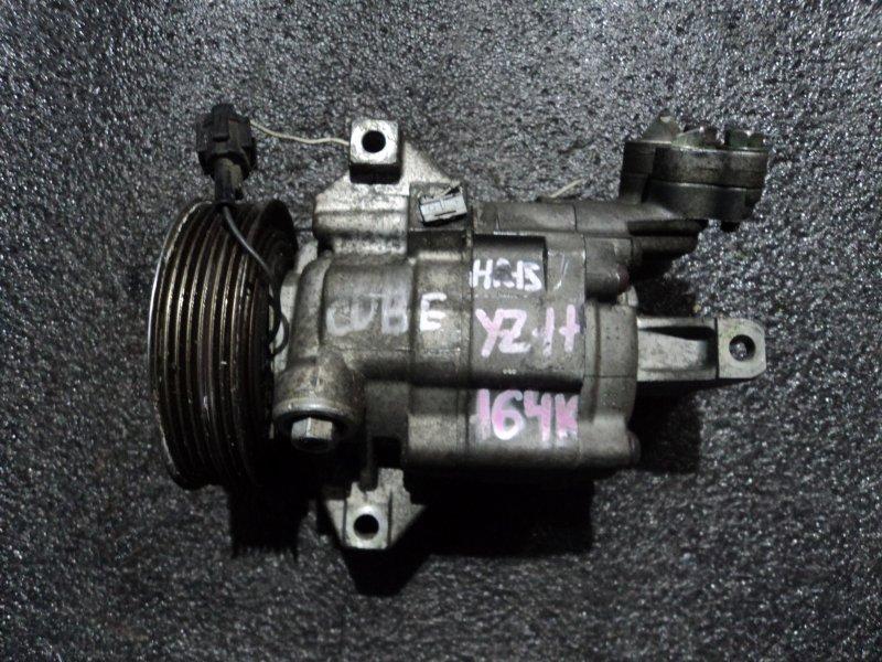 Компрессор кондиционера Nissan Tiida YGNZ11 HR15DE (б/у)