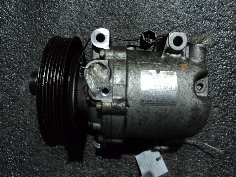 Компрессор кондиционера Nissan Liberty PM12 QR20DE (б/у)