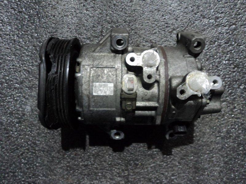 Компрессор кондиционера Toyota Auris ZZE150 4ZZFE (б/у)