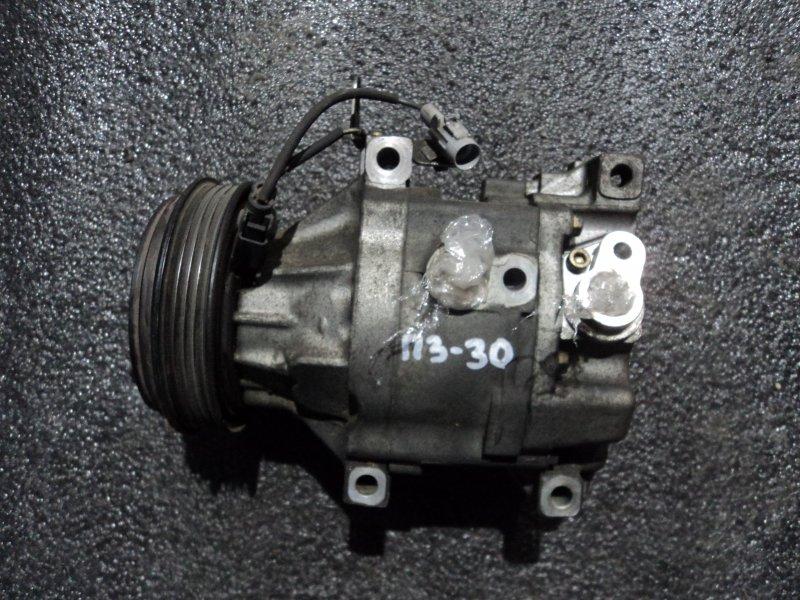 Компрессор кондиционера Toyota Echo SCP10 1SZFE (б/у)