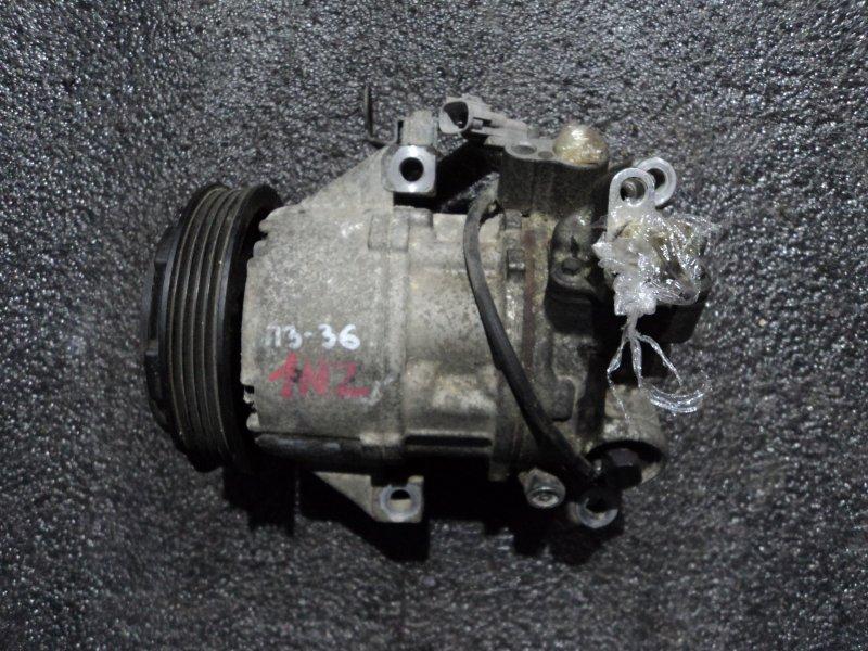 Компрессор кондиционера Toyota Probox NCP58 1NZFE (б/у)