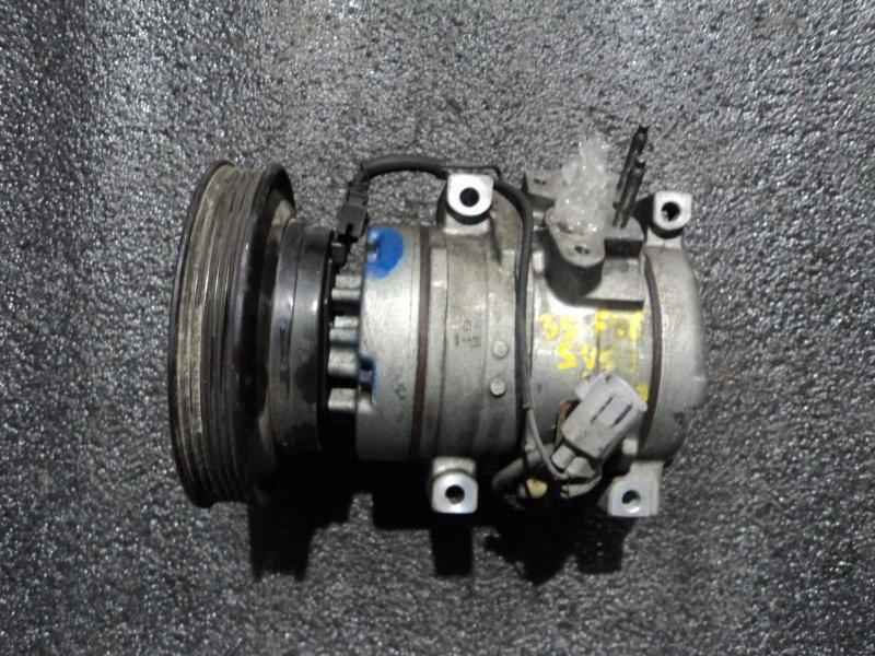 Компрессор кондиционера Toyota Vista SV50 3SFE (б/у)