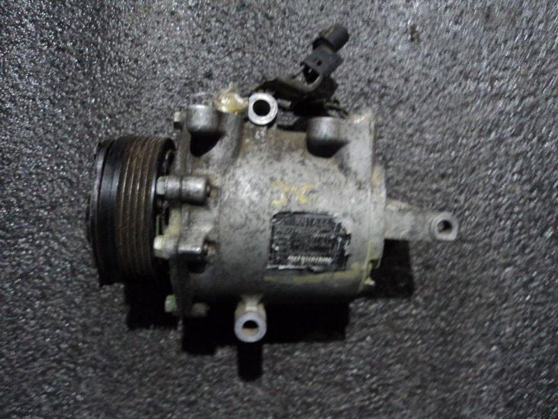Компрессор кондиционера Mitsubishi Colt Plus Z21A 4A90 (б/у)