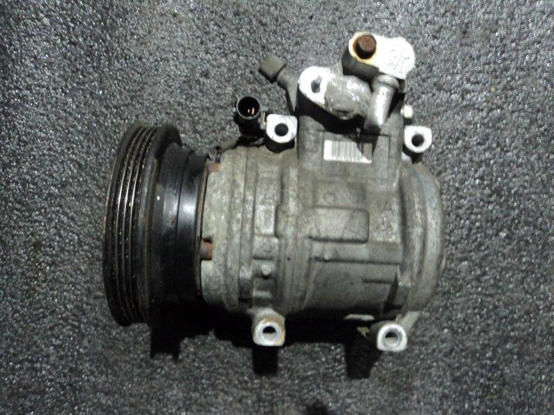 Компрессор кондиционера Mitsubishi Chariot N33W 4G63 (б/у)