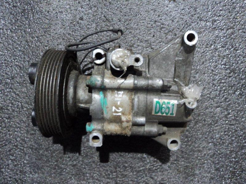 Компрессор кондиционера Mazda Demio DE3AS ZJVE (б/у)