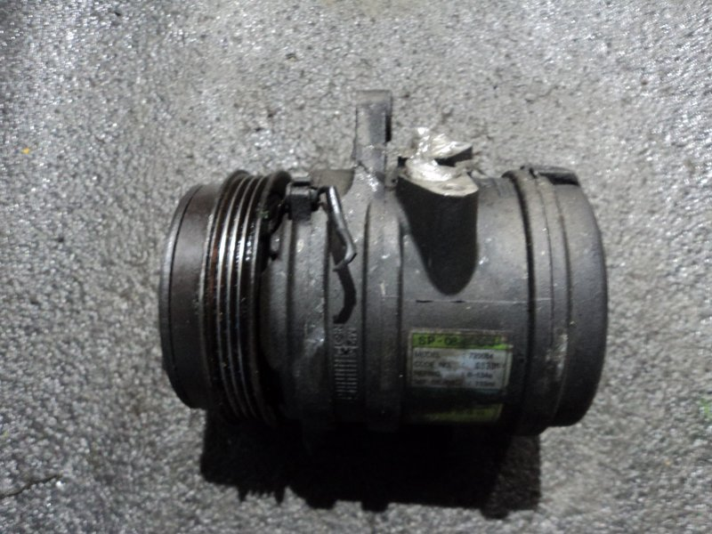 Компрессор кондиционера Daewoo Matiz KLYA B10D1 (б/у)