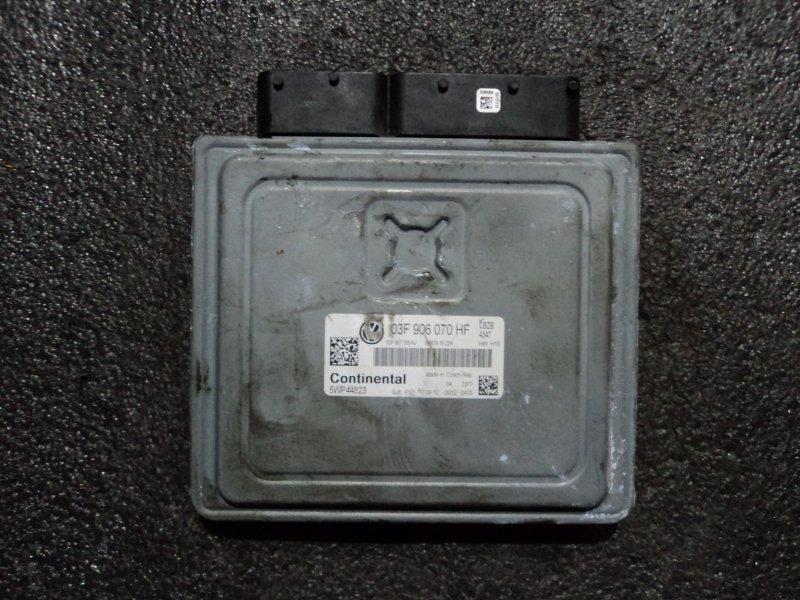 Блок управления двигателем Skoda Octavia 1Z3 CBZ 2013 (б/у)