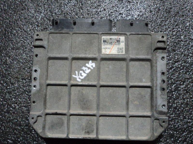 Блок управления двигателем Toyota Yaris SCP90 2SZFE (б/у)