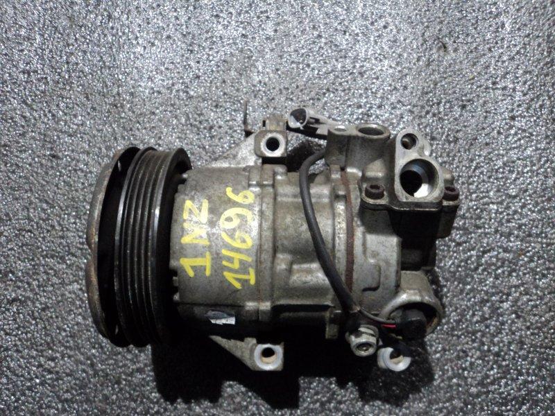 Компрессор кондиционера Toyota Probox NCP50 1NZFE (б/у)
