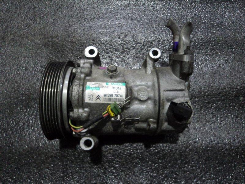 Компрессор кондиционера Peugeot 1007 KM ET3J4 (б/у)