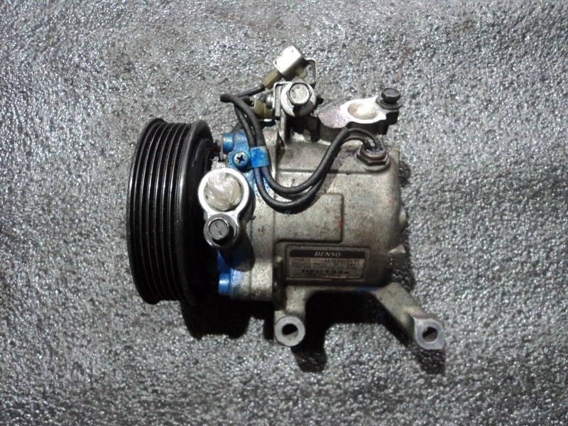 Компрессор кондиционера Toyota Agya 1KRFE (б/у)