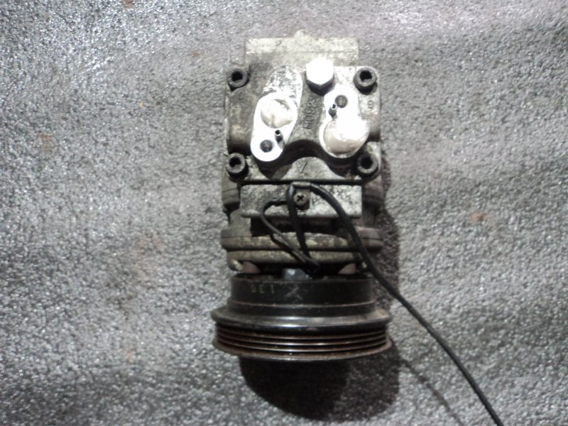 Компрессор кондиционера Kia Rio DC D4BB (б/у)