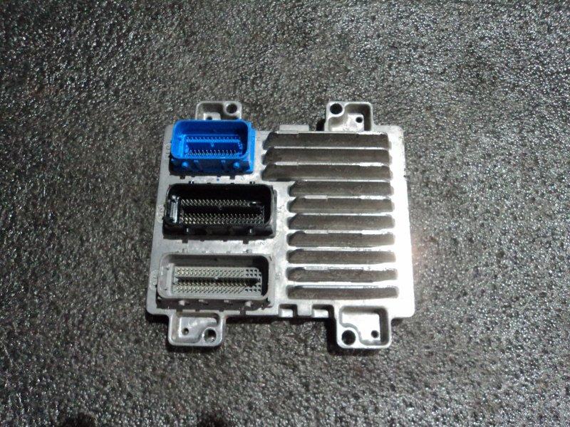Блок управления двигателем Chevrolet Cruze J300 F18D4 (б/у)