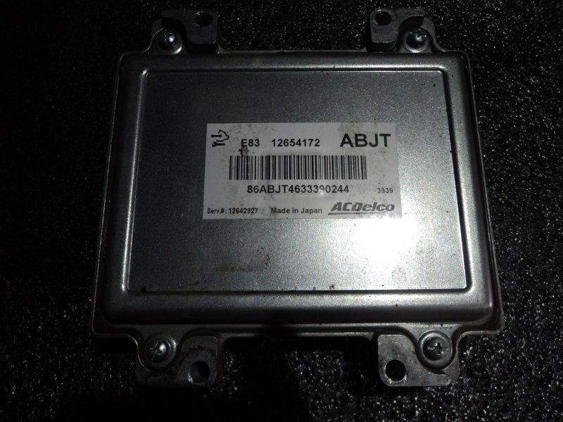 Блок управления двигателем Chevrolet Astra A16LET (б/у)
