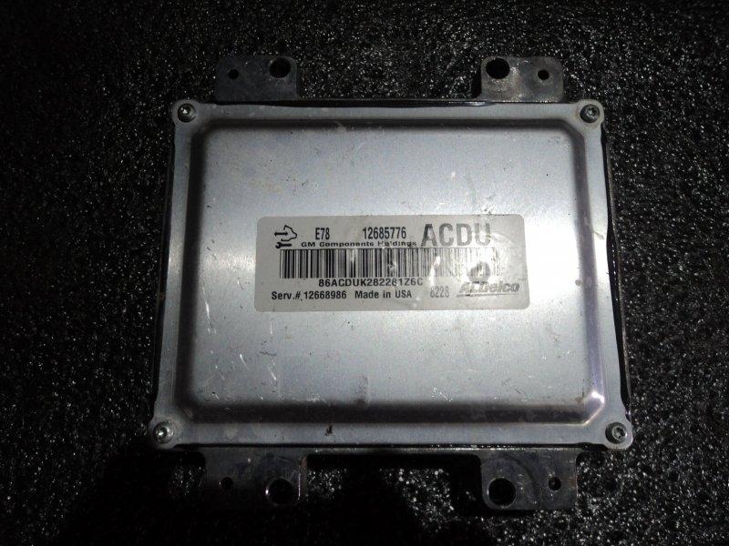 Блок управления двигателем Opel Mokka A14NET (б/у)
