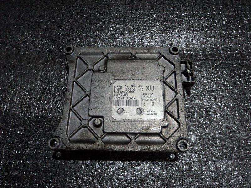 Блок управления двигателем Opel Astra L35 Z18XER (б/у)