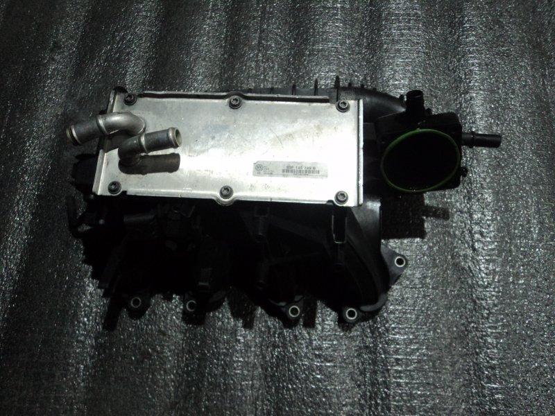 Коллектор впускной с радиатором интеркулера Audi A1 8X1 CBZA (б/у)