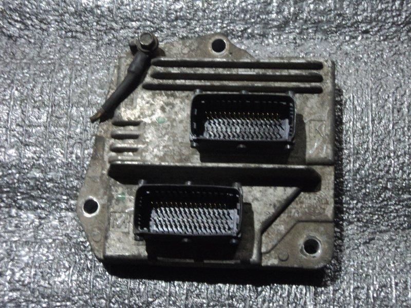 Блок управления двигателем Opel Astra Z16XEP (б/у)