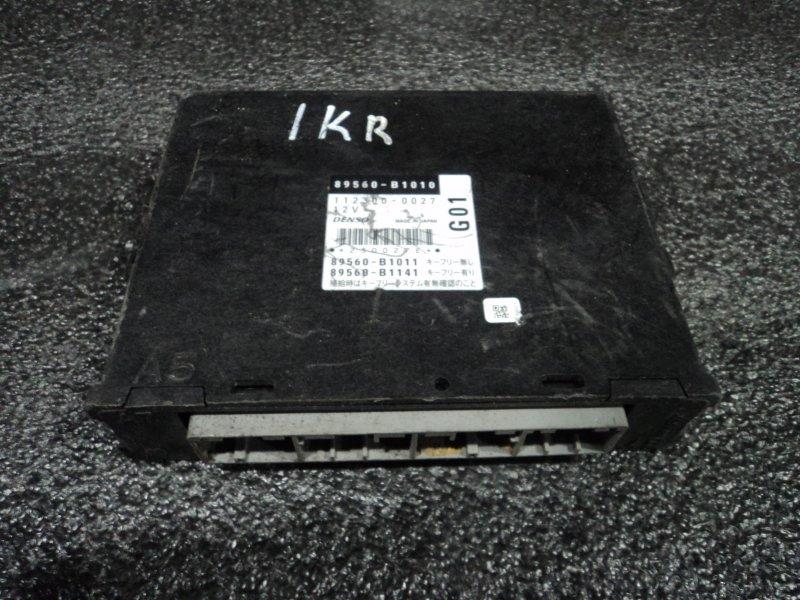 Блок управления двигателем Toyota Passo KGC10 1KRFE (б/у)