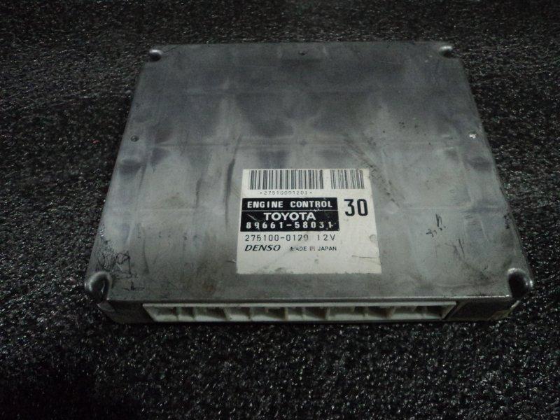 Блок управления двигателем Toyota Alphard ANH10 2AZFE (б/у)