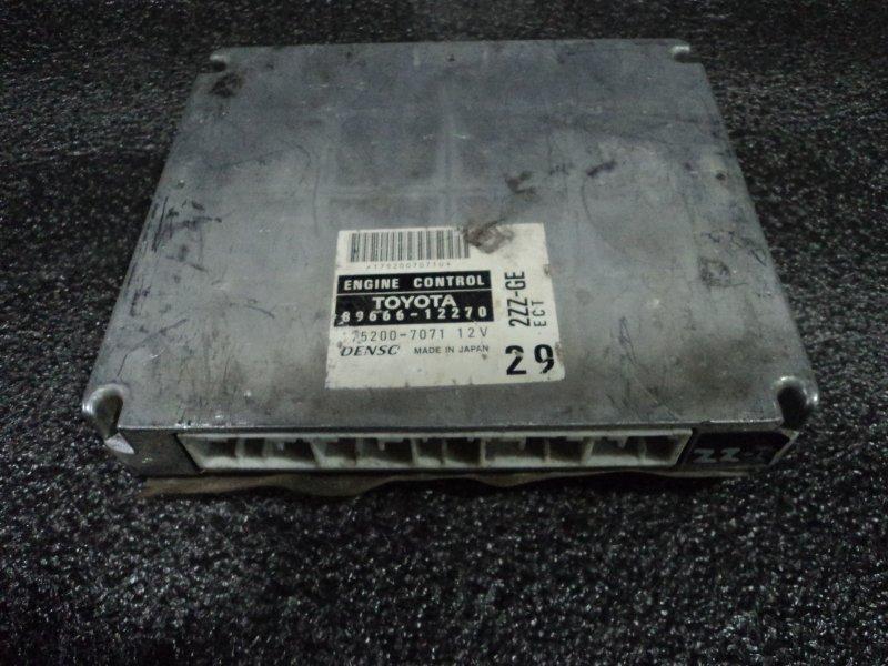 Блок управления двигателем Toyota Corolla Fielder CE121G 2ZZGE (б/у)