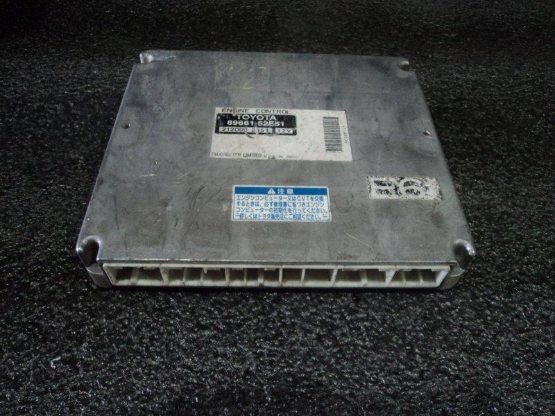 Блок управления двигателем Toyota Sienta NCP81 1NZFE (б/у)