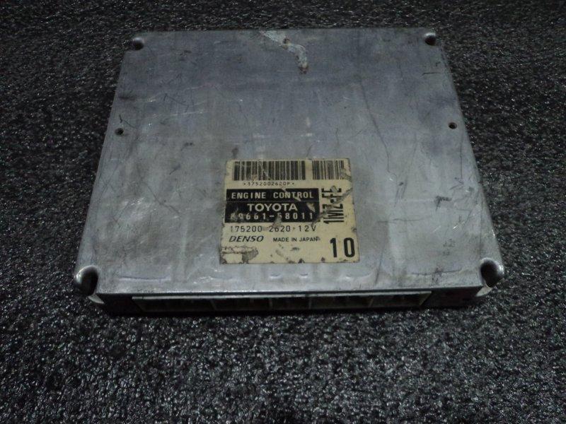 Блок управления двигателем Toyota Alphard MNH10 1MZFE (б/у)