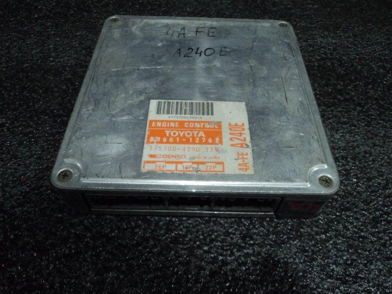Блок управления двигателем Toyota Corolla Ceres AE101 4AFE (б/у)