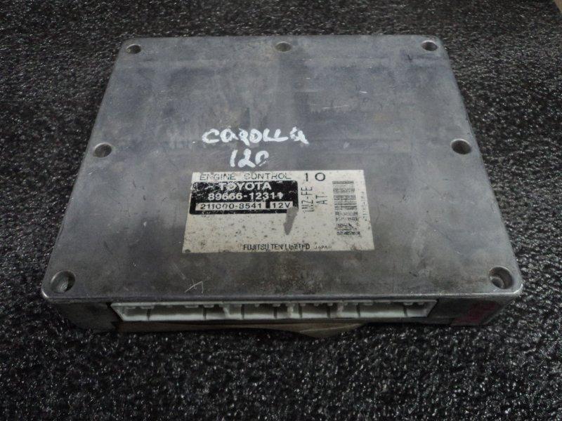 Блок управления двигателем Toyota Corolla Axio NZE121 1NZFE (б/у)