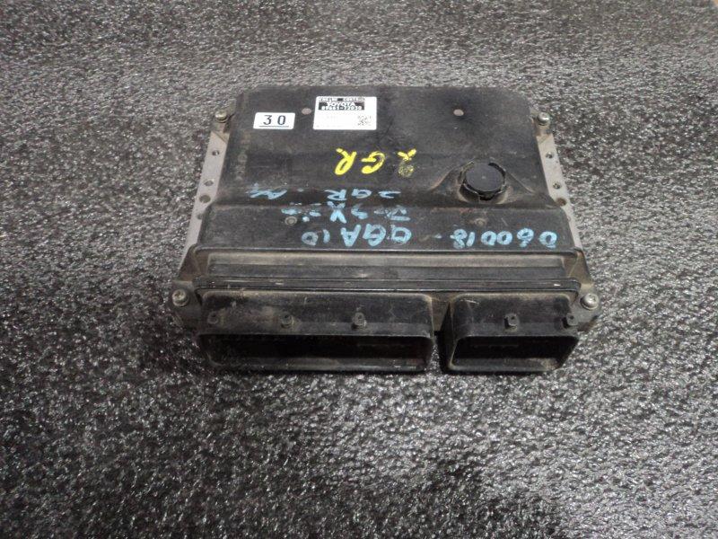 Блок управления двигателем Toyota Mark X Zio GGA10 2GRFE (б/у)