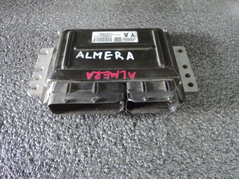 Блок управления двигателем Nissan Almera N16 QG15DE (б/у)