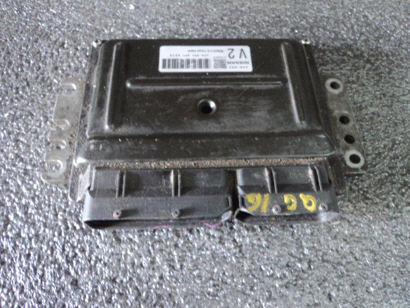 Блок управления двигателем Nissan Almera N16 QG16DE (б/у)