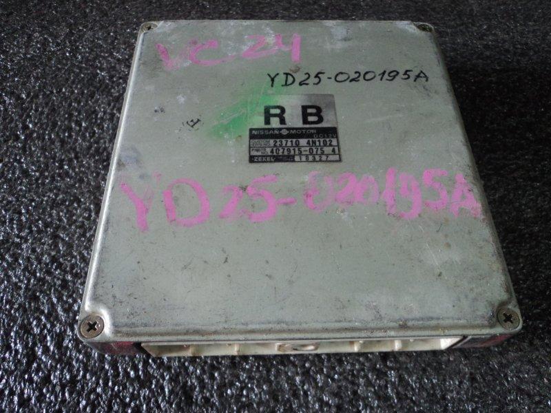 Блок управления двигателем Nissan Serena VC24 YD25DDTI (б/у)