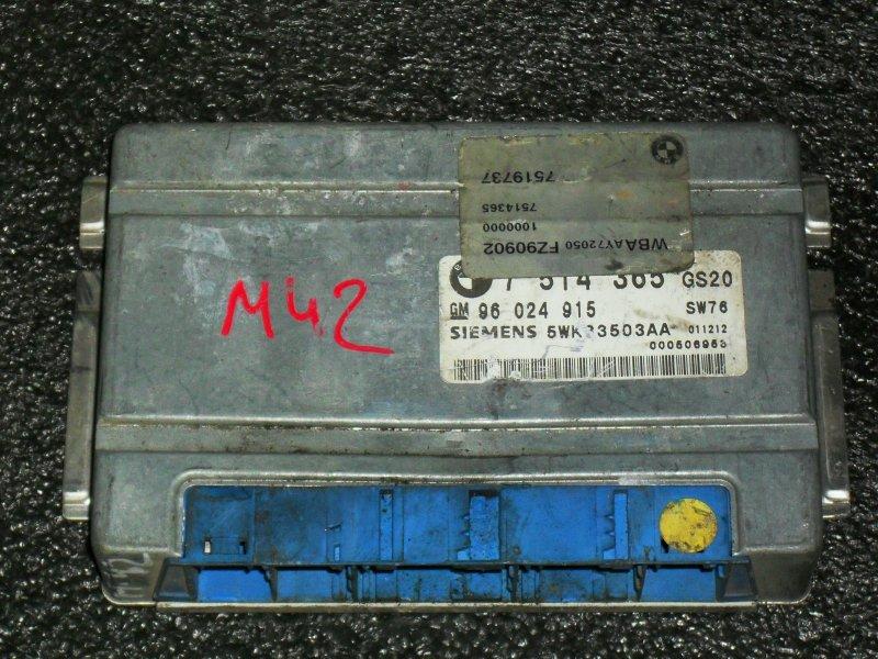 Блок управления двигателем Bmw 5-Series E39 M57D25 (б/у)