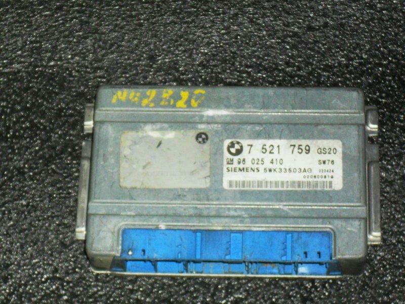 Блок управления двигателем Bmw X5 E53 6D1 (б/у)