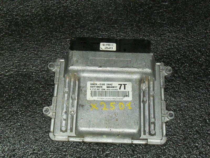 Блок управления двигателем Chevrolet Epica X25D1 (б/у)